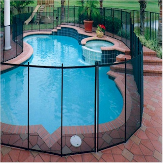Child Safety Pool Fence Installation