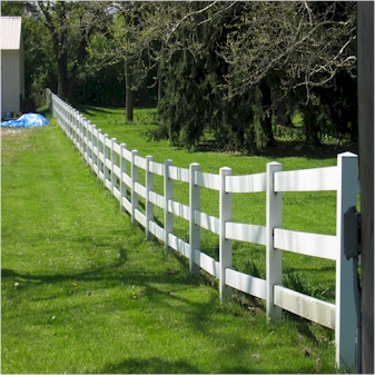 Horse Fence Installation