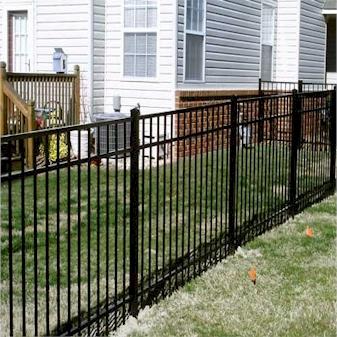 metal fence repair